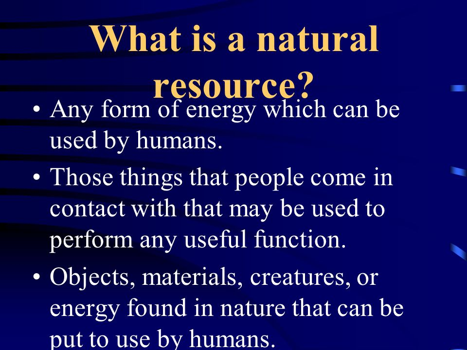 Water Resources C. Major water problems –1. Control –2. Quality –3. Distribution