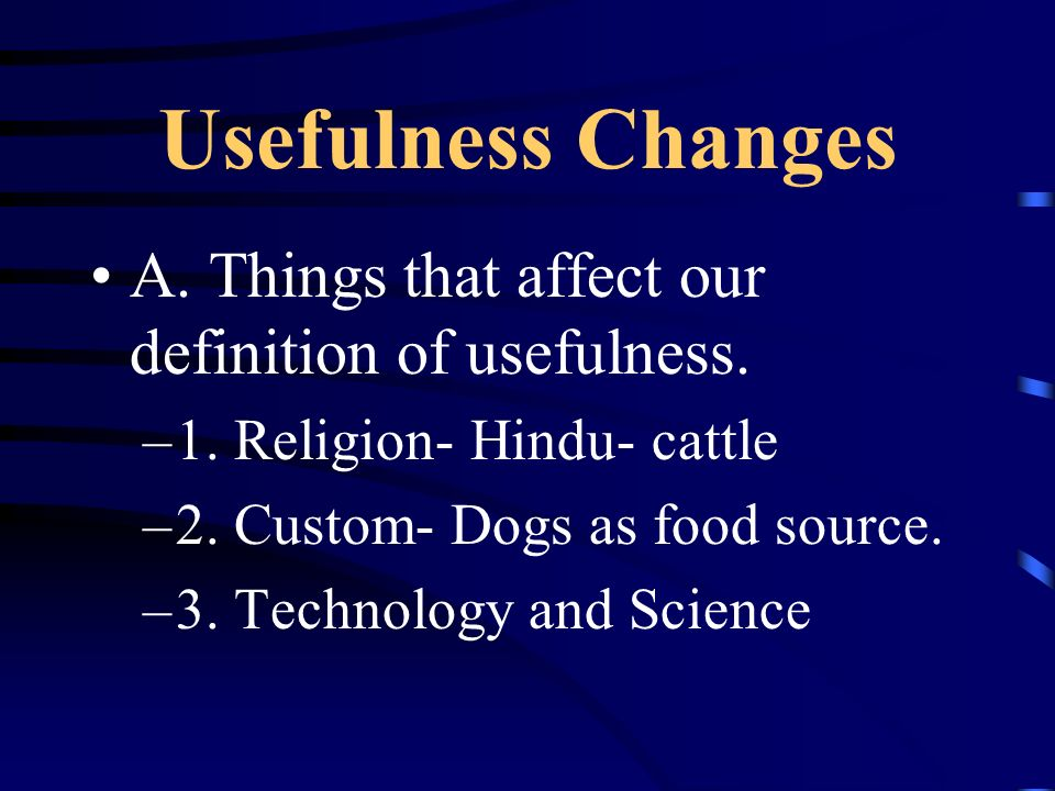 Fish and Wildlife Resources A.Non-domesticated animals, either game or nongame.