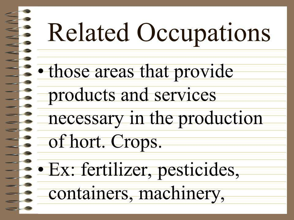 Additional specialized areas seed production