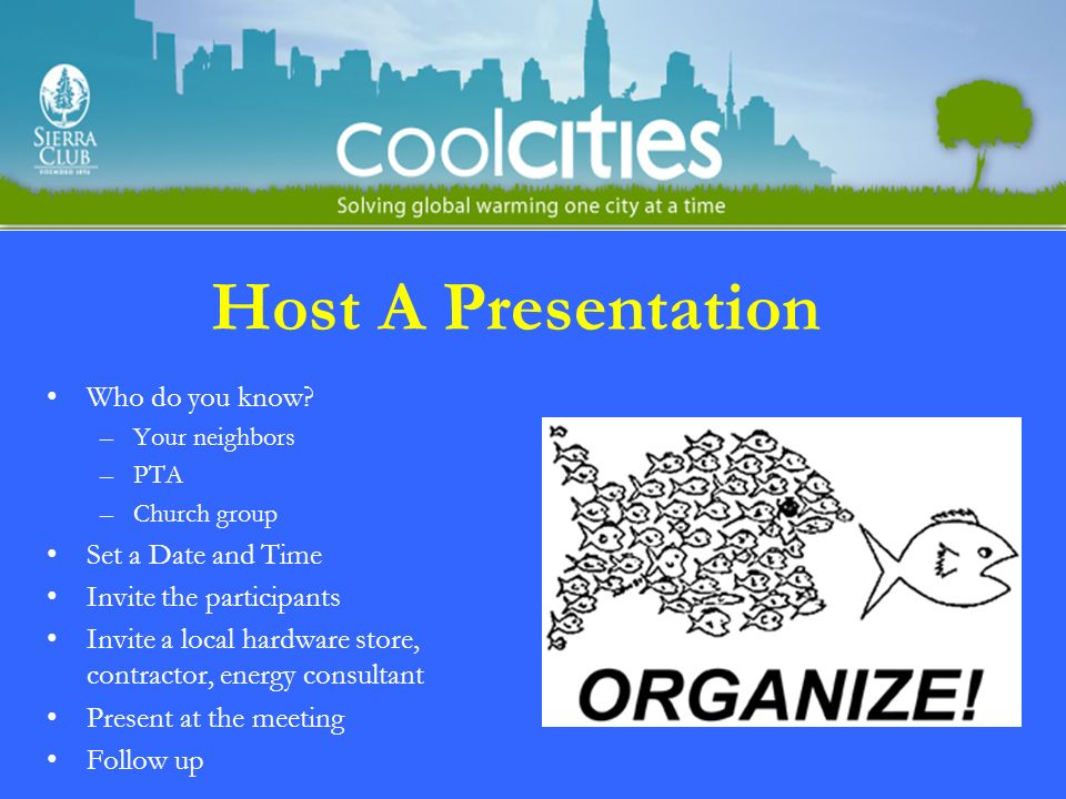 Host A Presentation Who do you know.