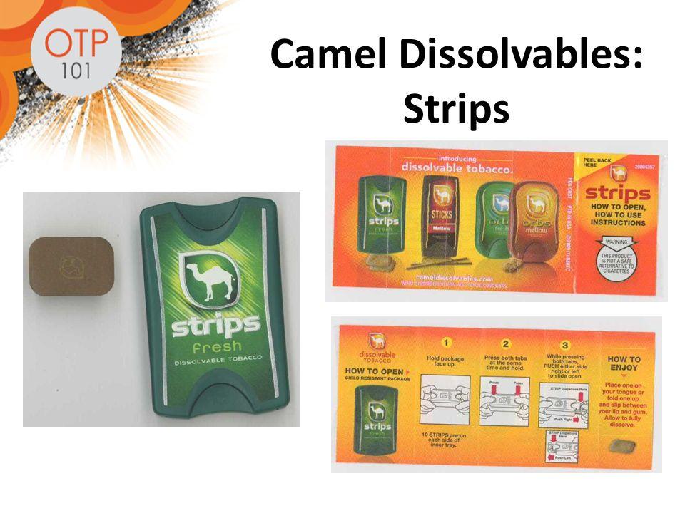 Camel Dissolvables: Strips