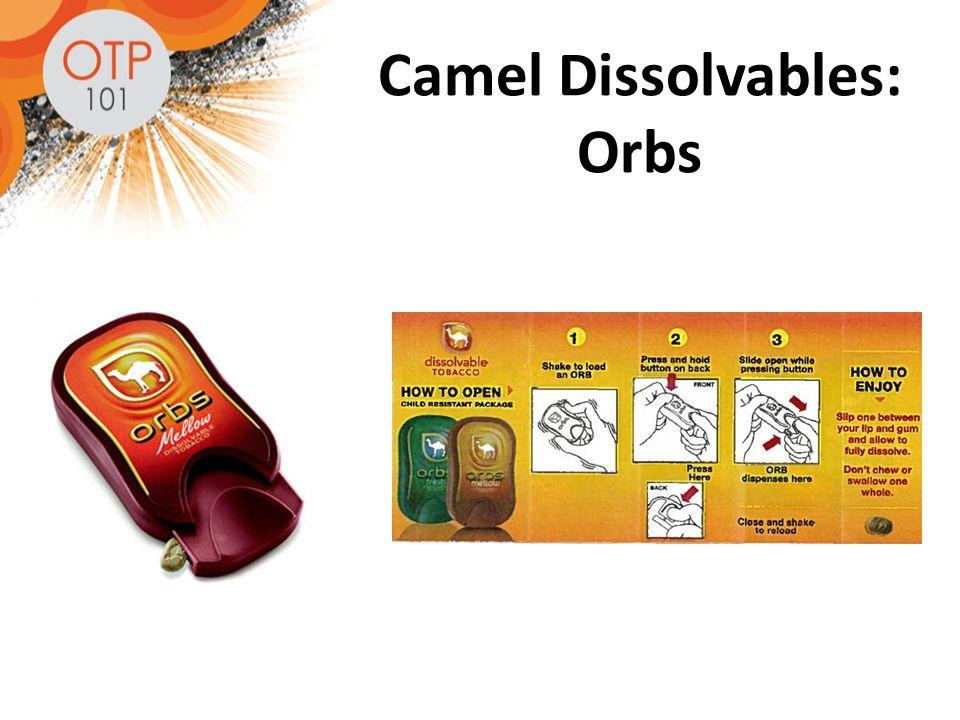 Camel Dissolvables: Orbs