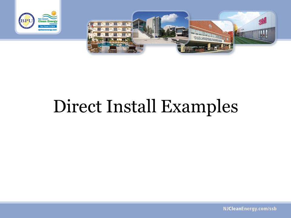 Direct Install Examples