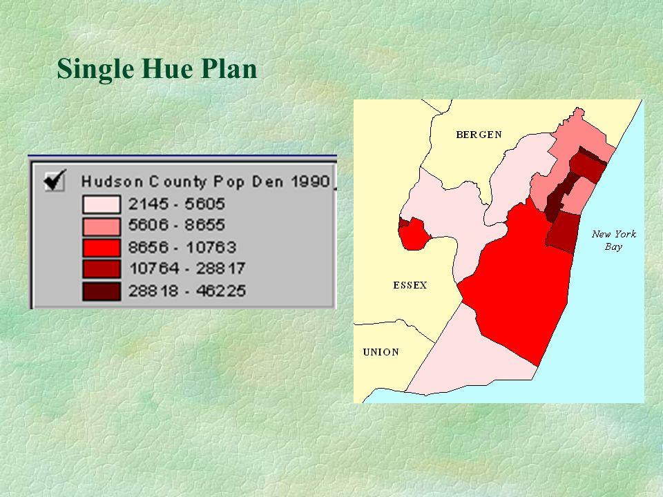 Single Hue Plan