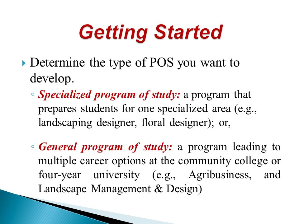 Determine the type of POS you want to develop.