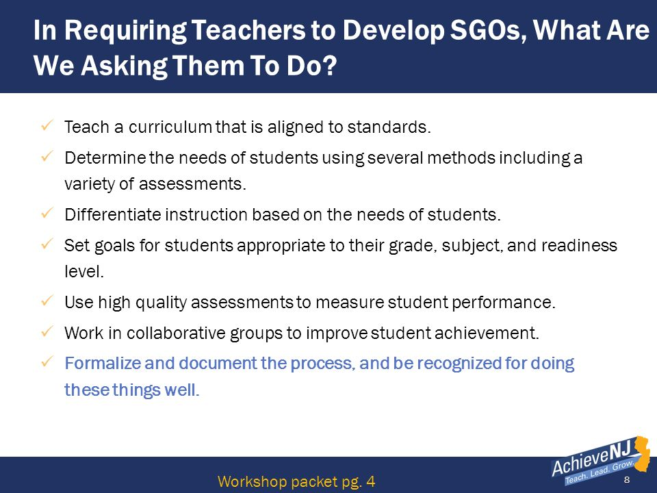 49 Collection of Evidence Quality Rubrics Strong rubrics ensure that a students knowledge of a subject or skill is accurately assessed.