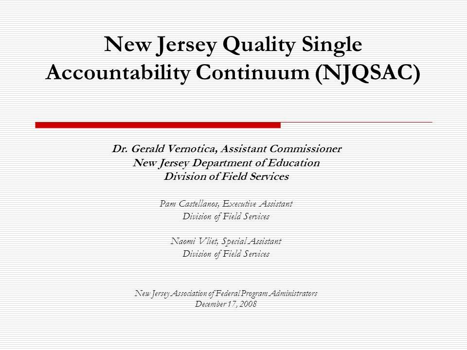 2 Regulatory Authority N.J.A.C.
