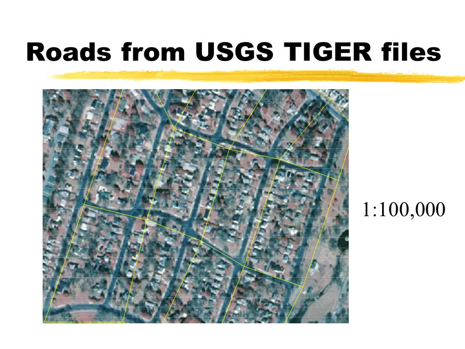 1:100,000 Roads from USGS TIGER files