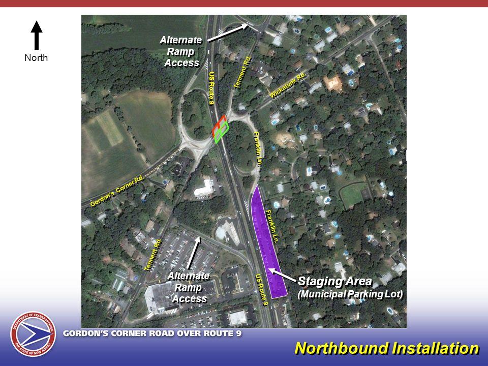 Tennent Rd. Gordons Corner Rd. Wickatunk Rd. Franklin Ln.