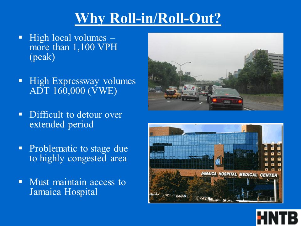 Why Roll-in/Roll-Out.