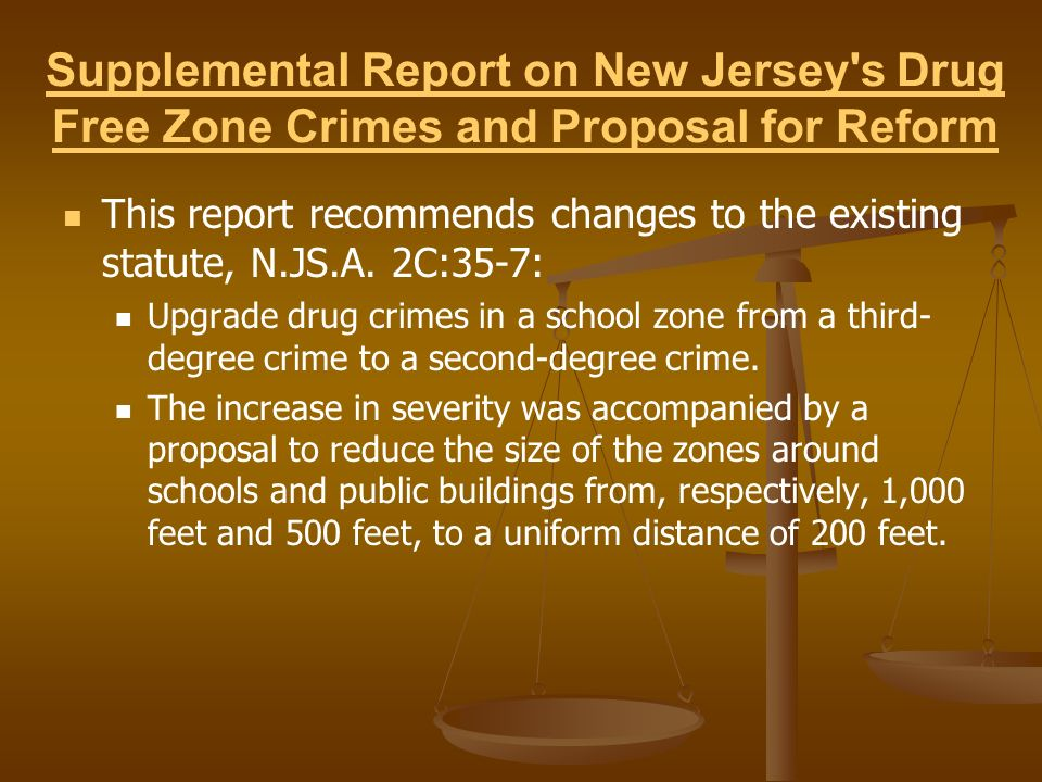 Where are Legislation/Recommendations now.Amendments to N.J.S.A.
