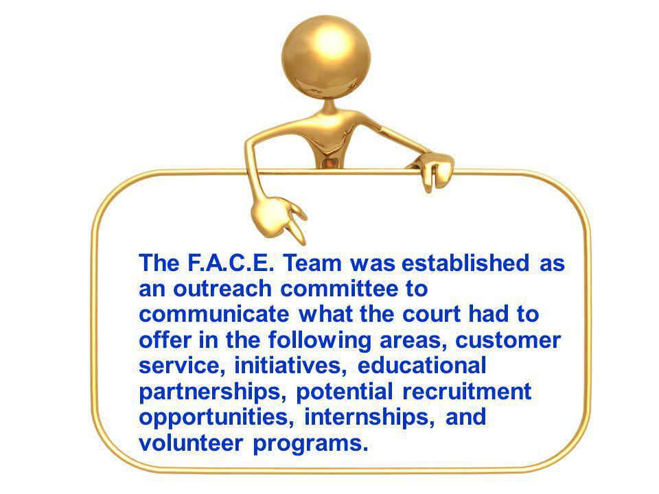 The F.A.C.E.