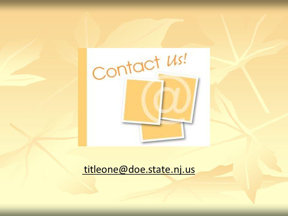 titleone@doe.state.nj.us