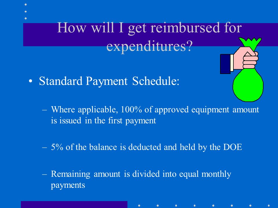 May I spend money now? As of the program start date of your agreement, you may begin to obligate approved expenditures.