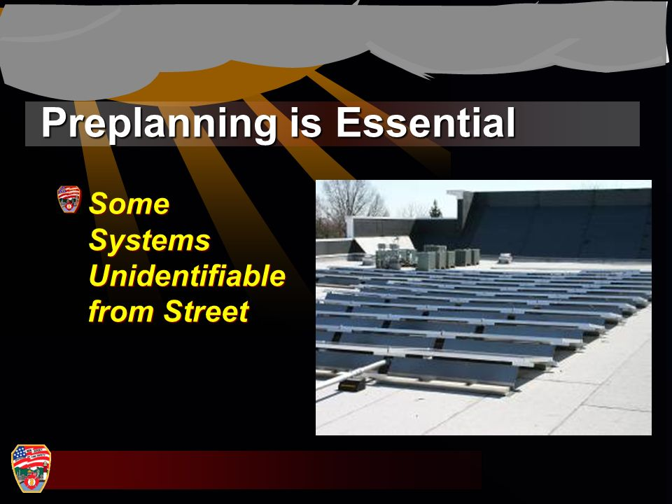 Preplanning is Essential Some Systems Unidentifiable from Street