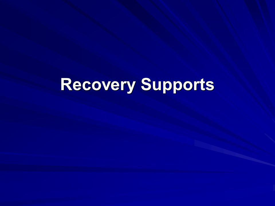 Recovery Supports