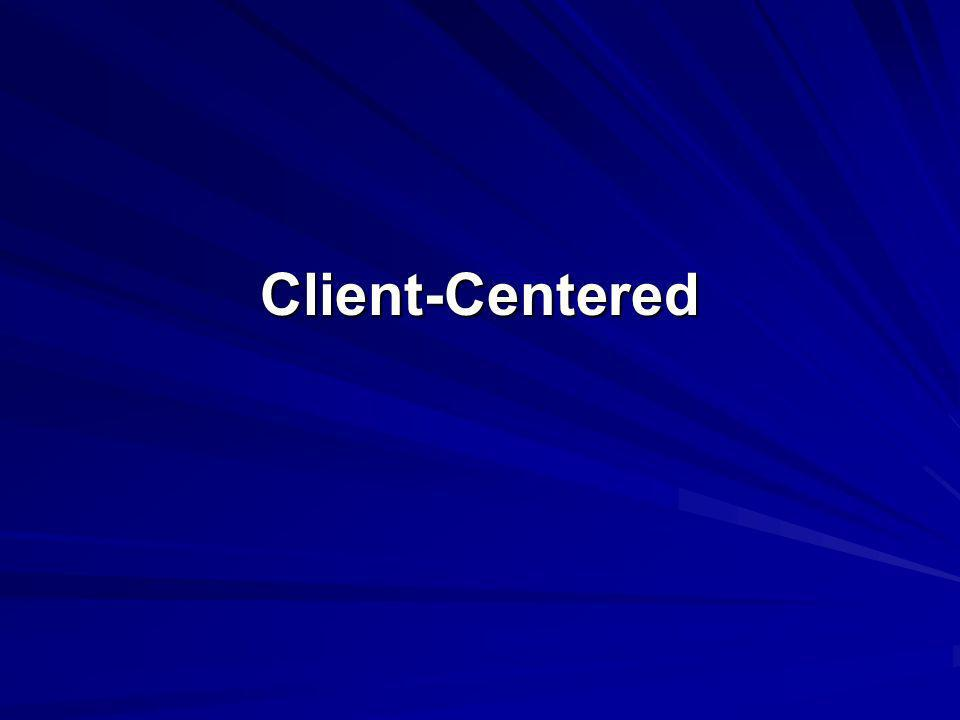 Client-Centered