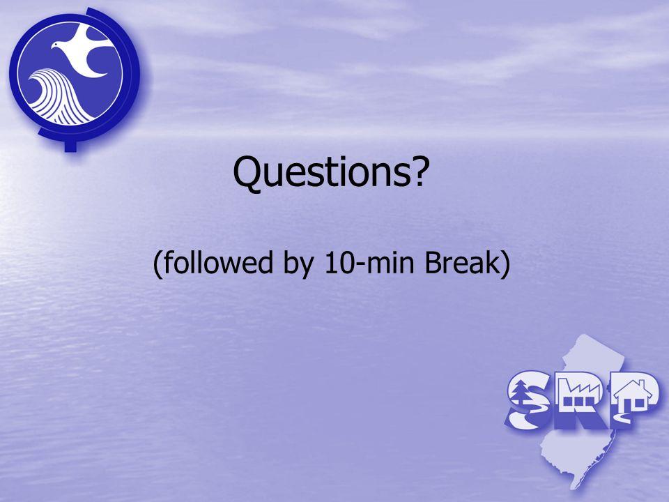 Questions? (followed by 10-min Break)