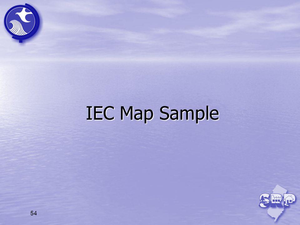 IEC Map Sample 54