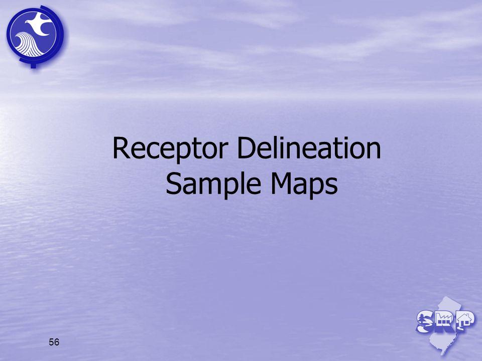 Receptor Delineation Sample Maps 56