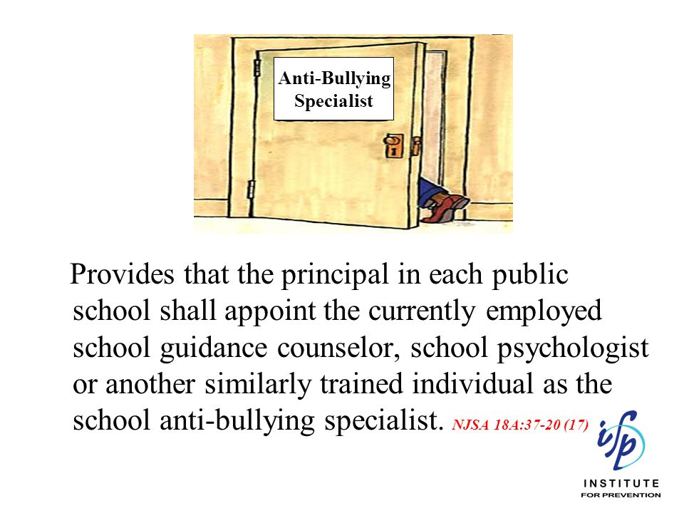 Provides that the principal in each public school shall appoint the currently employed school guidance counselor, school psychologist or another simil