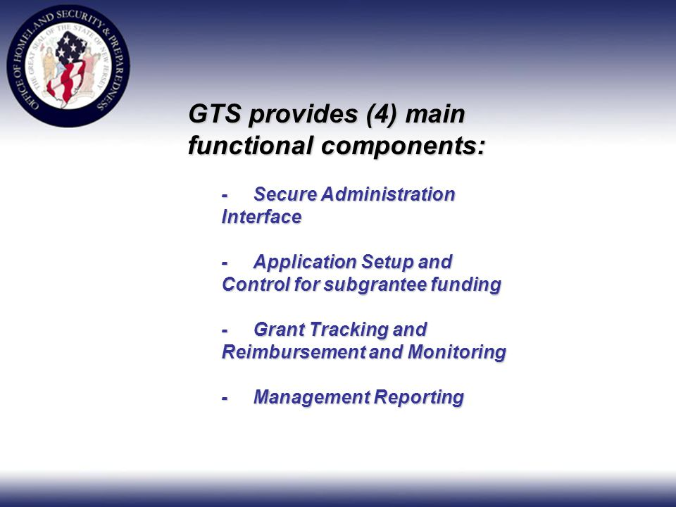Logging In – - All Users will enter the system using the Grant Tracking Systems login page.