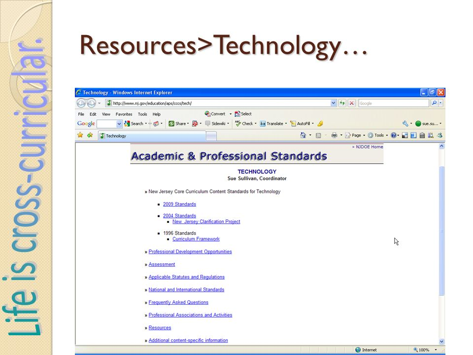 Resources>Technology…