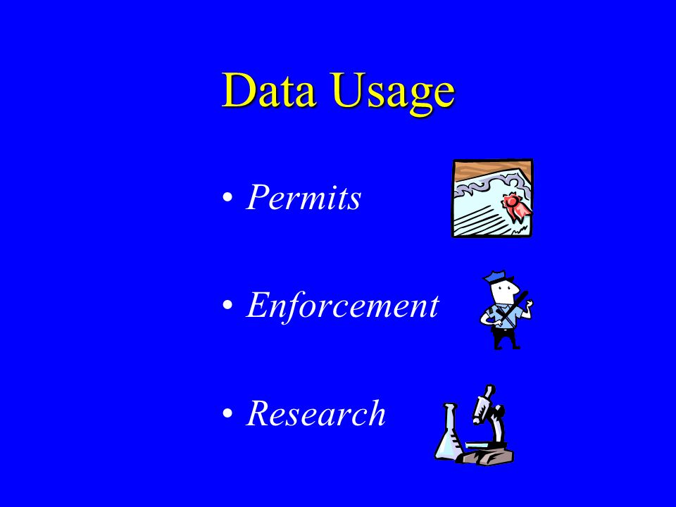 Data Usage Permits Enforcement Research
