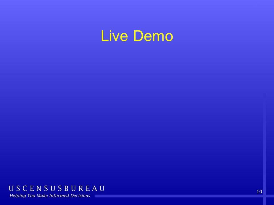 Live Demo 10
