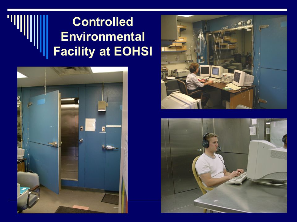 Controlled Environmental Facility at EOHSI
