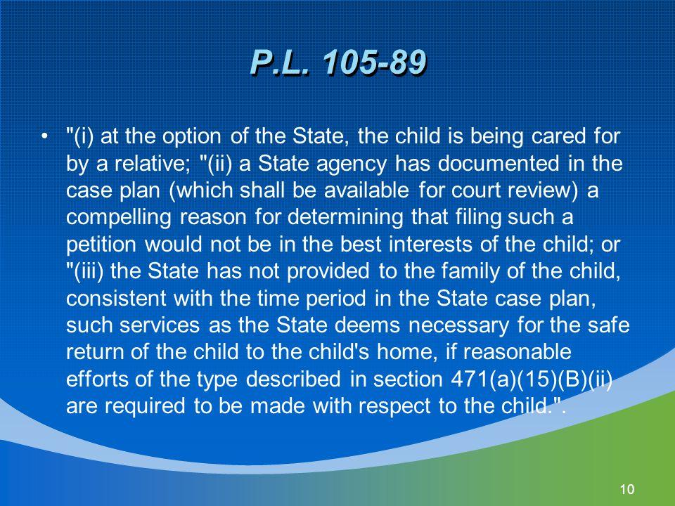 P.L. 105-89