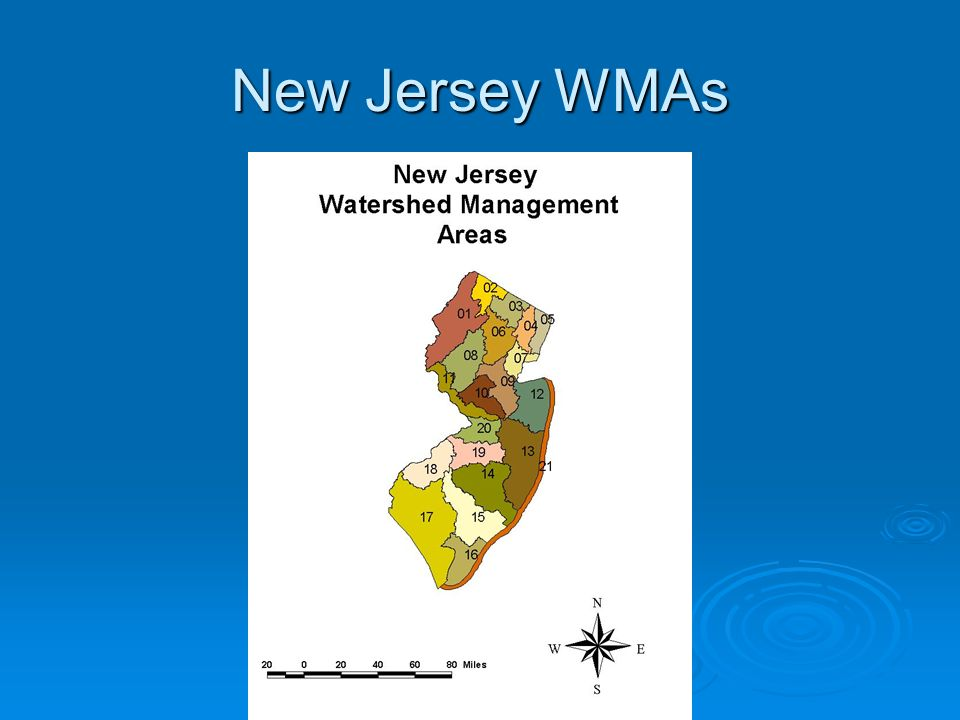 New Jersey WMAs