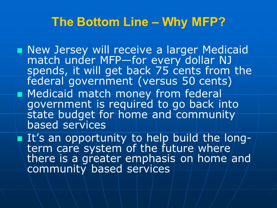 The Bottom Line – Why MFP.
