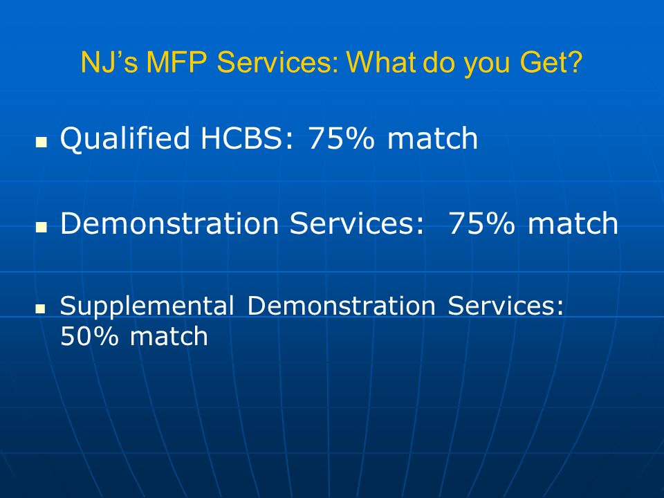 NJs MFP Services: What do you Get.