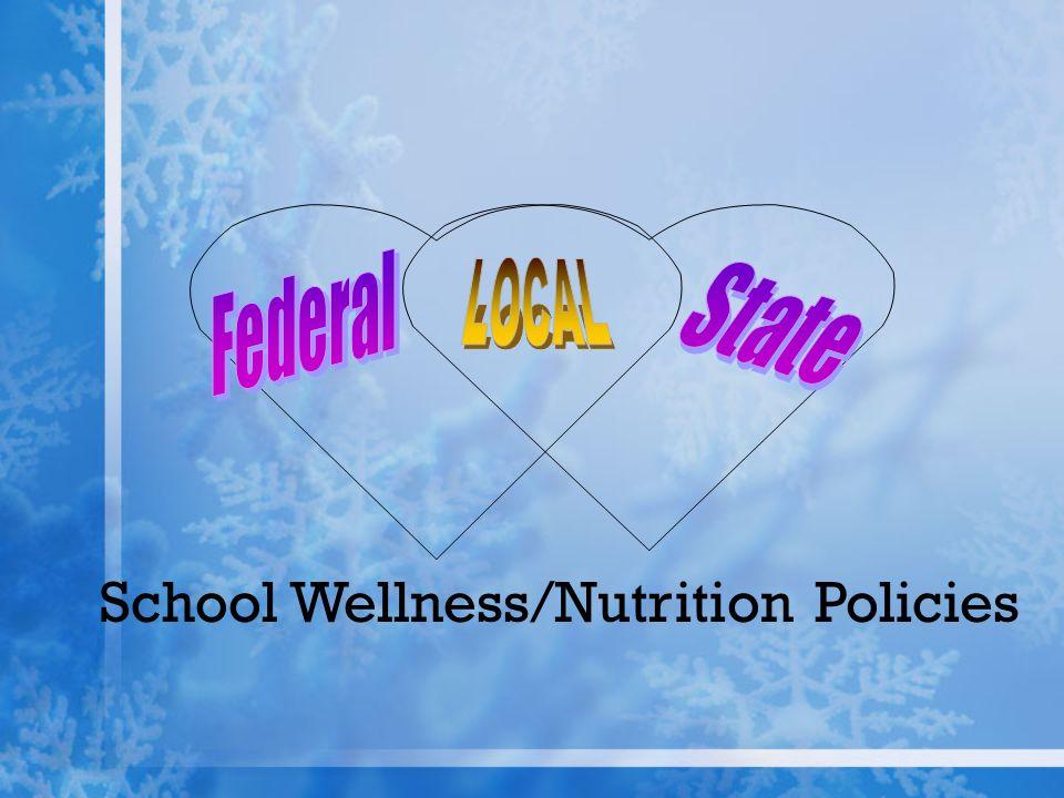 School Wellness/Nutrition Policies
