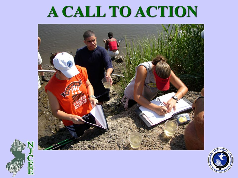 (teachers receiving EE enrichment - photo) A CALL TO ACTION A CALL TO ACTION
