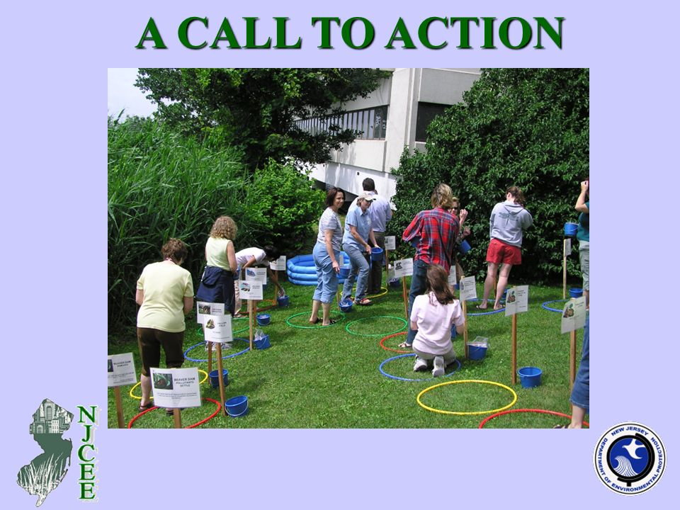 Intended Users of Revised Plan A CALL TO ACTION A CALL TO ACTION Formal teachers and school administrators Non-formal environmental educators, naturalists and administrators Professionals in various fields in public and private sectors Organizational leaders, youth educators and volunteers Students, families and parents