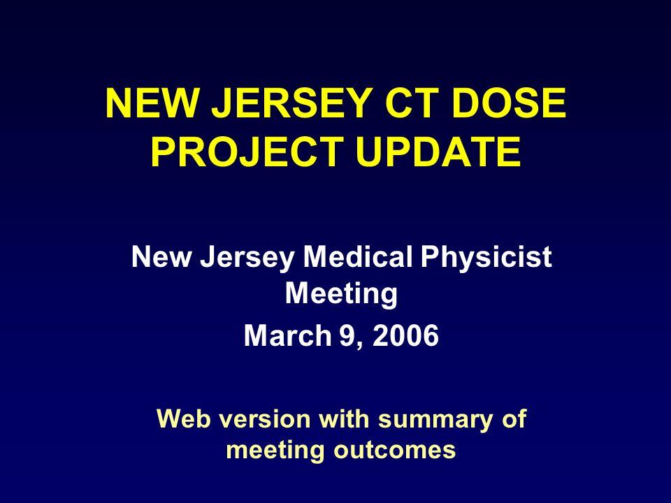 Baseline CTDI(vol) Doses (mGy) Data is Established Procedure/ CTDI(vol) Adult Head Adult Abdomen Pediatric Abdomen Mean49.1219.3315.33 80 th percentile60.4026.0021.20