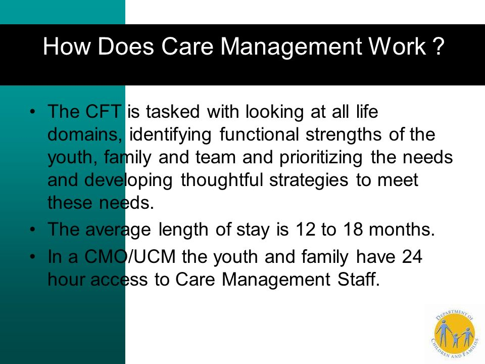 How Does Care Management Work .