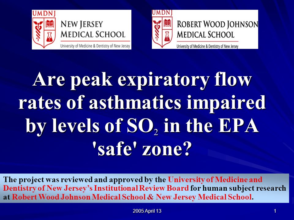 2005 April 13 12 STUDY PARTICIPANTS: 51% (64/125) of asthmatic students (physician-diagnosed), grades 5-12, were eligible and then gave informed consent to participate *Higher participation rate in the elementary and middle school than in the high school.