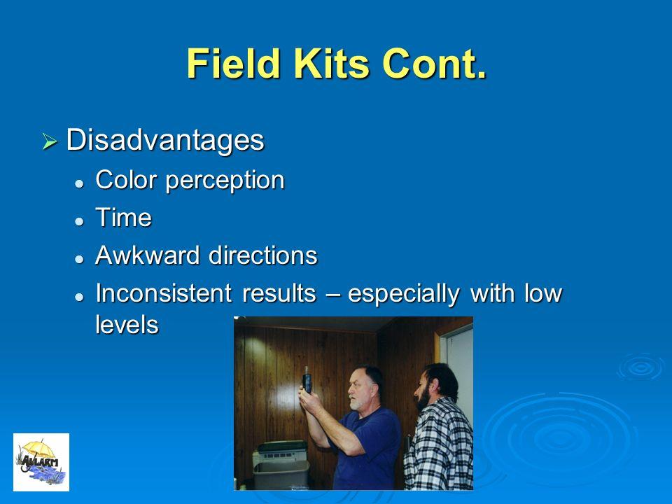 Field Kits Cont.