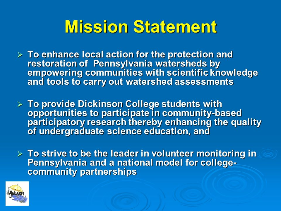 The Alliance for Aquatic Resource Monitoring educate. engage. empower.