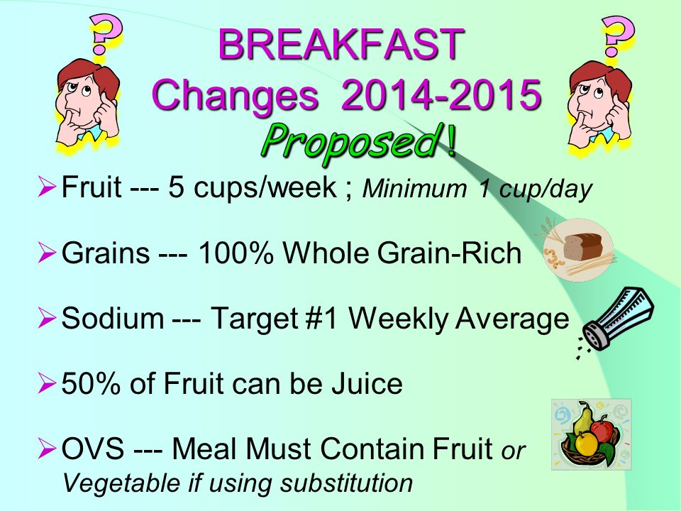 CHECK Current Menu: Is a Grain Offered Daily.Is a Grain Offered Daily.