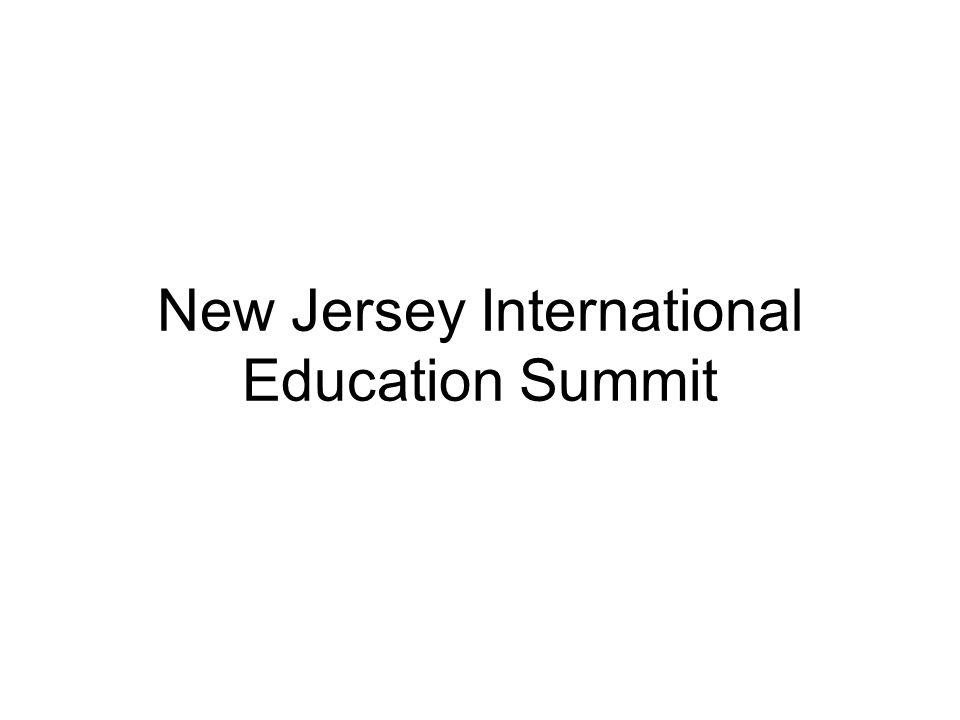 New Jersey International Education Summit