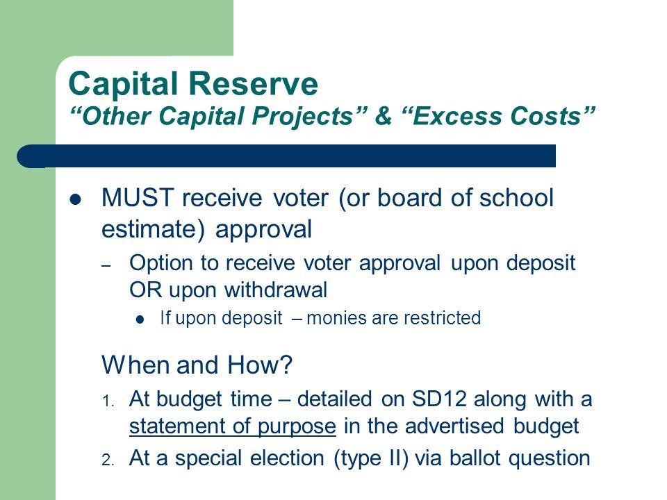 2003-04 Budget 2 nd Year Cap Banking 3% Min Surplus DEPA Budgets Tuition Reserve Recap of Balances