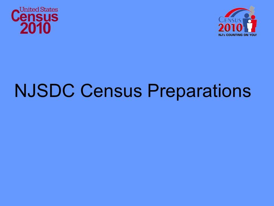 NJSDC Census Preparations