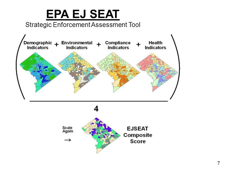 7 EPA EJ SEAT Strategic Enforcement Assessment Tool