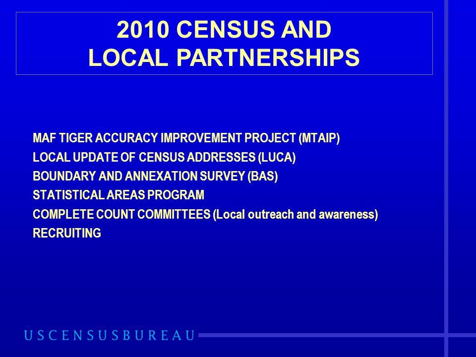 Statistical Areas Programs Census Tract Criteria.