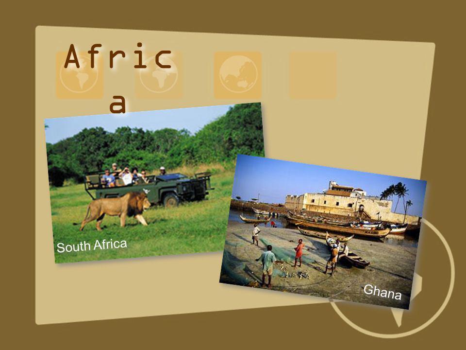 Ghana South Africa Afric a