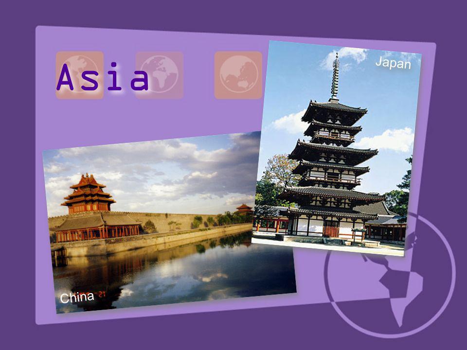 China Japan Asia